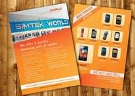 Contest Entry #4 for Good Design a Flyer for SimTek World Ltd