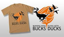 Contest Entry #38 for Design a deer and ducks t shirt Many more jobs to come this is a test to find our designer. Logo