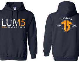 #38 para Design a Hoodie for MBA Class of 2015 por jaskoraul7