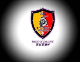 z35304 tarafından Sports Logo for North Shore Rugby Ice Dragons için no 48