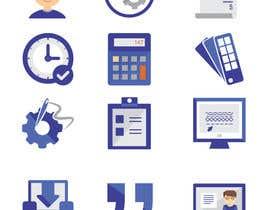 Nro 25 kilpailuun Design some Icons for Customer Portal käyttäjältä DesignApt