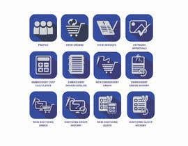 Nro 48 kilpailuun Design some Icons for Customer Portal käyttäjältä fastdelivery2