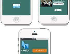 Nro 64 kilpailuun Design an iPhone and iPad App Mockup käyttäjältä nirajrblsaxena12