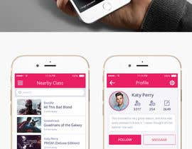 Nro 59 kilpailuun Design an iPhone and iPad App Mockup käyttäjältä graphicssquare