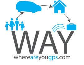 #135 para Logo Design for www.whereareyougps.com por richr1972