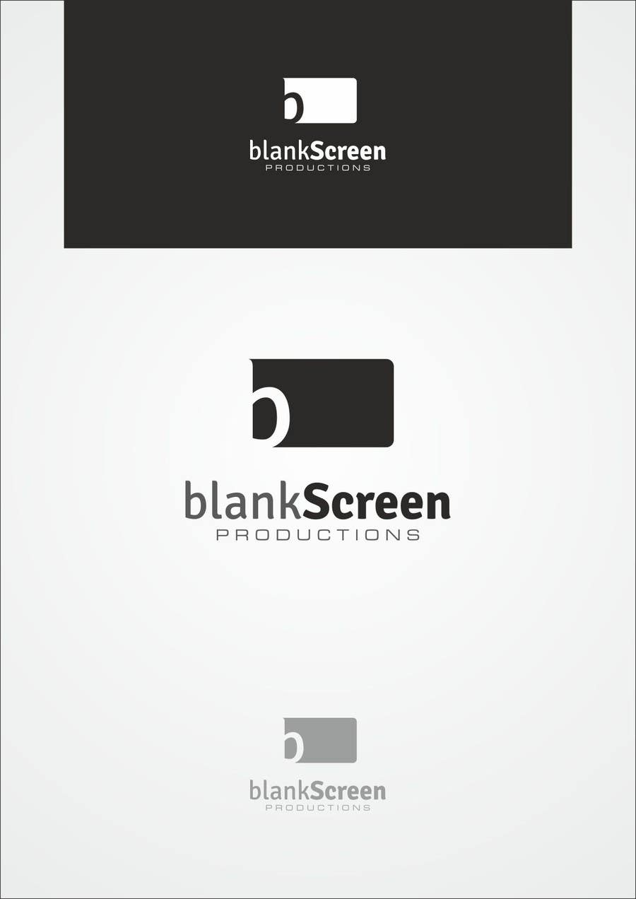 #102 for Design a Logo for Blank Screen by F5DesignStudio