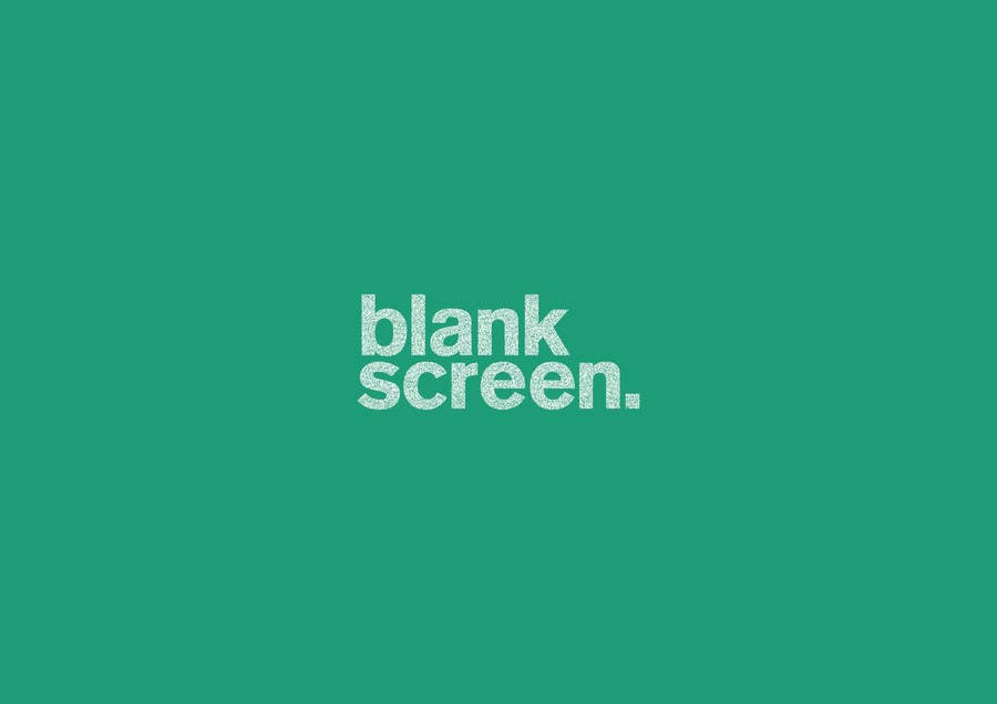 #187 for Design a Logo for Blank Screen by whoislgc
