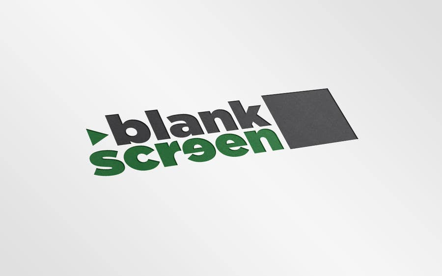 #296 for Design a Logo for Blank Screen by Proud2becroat