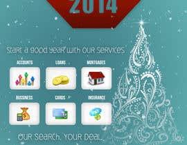 #7 untuk Design an e-greeting card for new year oleh SabinaTrzan