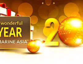 #22 para Design 2 Banners for X'mas and New Year por ryanmahendra