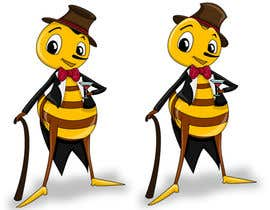 #12 cho I need a cartoon-style illustration of a Bee bởi swati14