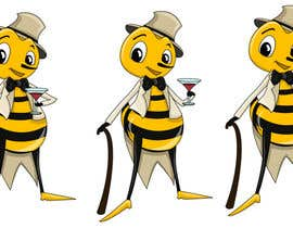 #16 cho I need a cartoon-style illustration of a Bee bởi swati14