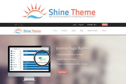 #50 para Design a Logo for Shine Theme por iffikhan