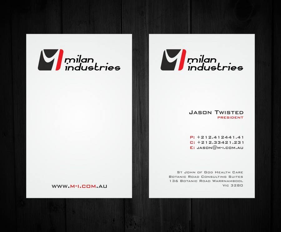 #13 for Stationery Design for Milan Industries Pty Ltd by F5DesignStudio