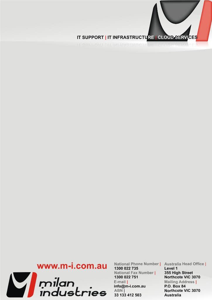 Penyertaan Peraduan #                                        26                                      untuk                                         Stationery Design for Milan Industries Pty Ltd