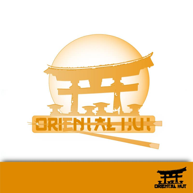Contest Entry #                                        119                                      for                                         Design a Logo for the brand name 'Oriental Hut'