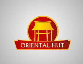 nº 70 pour Design a Logo for the brand name 'Oriental Hut' par Grupof5