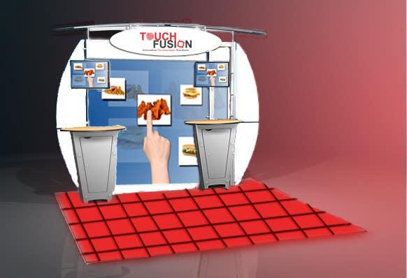 Kilpailutyö #6 kilpailussa Convention Show Booth Design