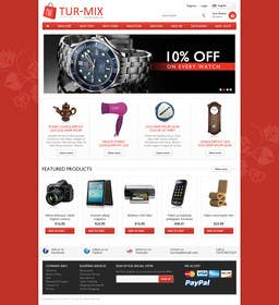 #1 for simple layout for an e-commerce second hand shop by Ponchu