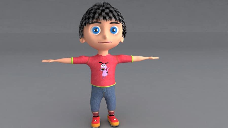 #2 for 3D Character Modelling by pratikshastrakar