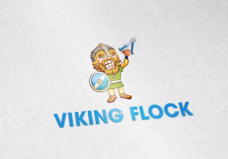 #3 for Design a logo for Vikingflock by LogoFreelancers