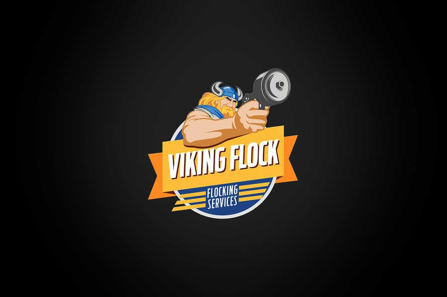 #17 for Design a logo for Vikingflock by kamikira
