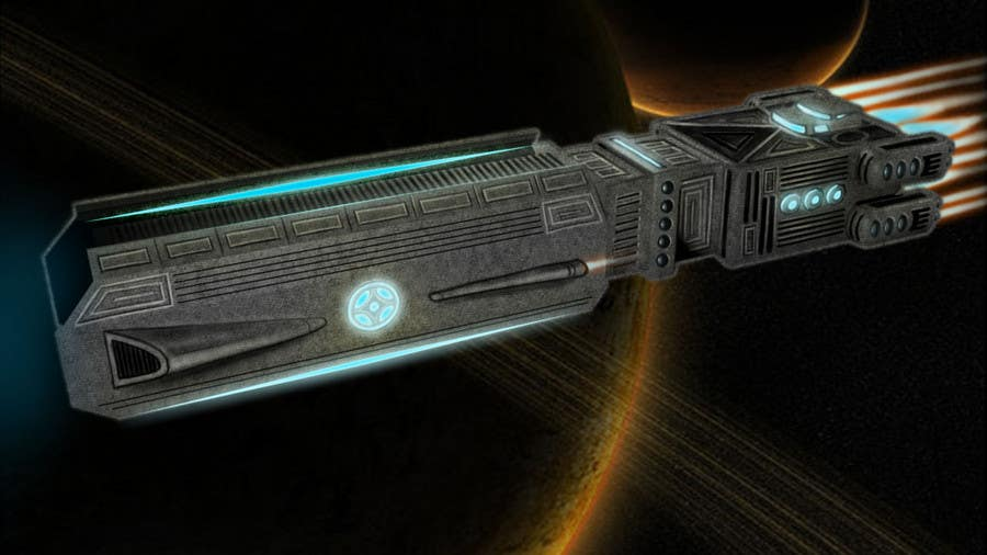 Inscrição nº 11 do Concurso para Concept Art for existing 3D space ship model for SciFi Game