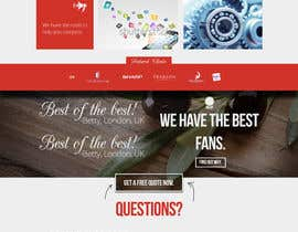 #2 untuk Redesign of website & logo for a Hosting company focused on dedicated servers and VPS. oleh AlexZWoahWeb