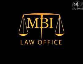 Nro 25 kilpailuun Desing Logo for mbi law office käyttäjältä zainulbarkat