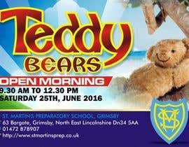 Nro 37 kilpailuun Teddy Bear  Flyer käyttäjältä dekaszhilarious