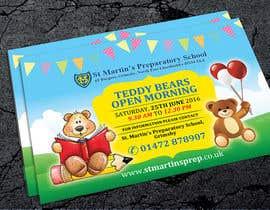Nro 10 kilpailuun Teddy Bear  Flyer käyttäjältä natspearldesign