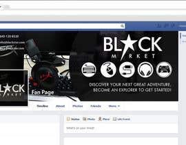 Biayi81 tarafından BlackStar.Market Facebook logo + cover için no 17