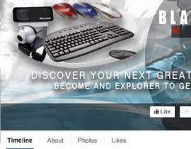 sah57062f0e2f26f tarafından BlackStar.Market Facebook logo + cover için no 20
