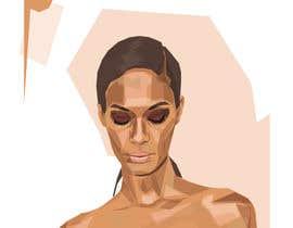 Nro 25 kilpailuun Illustrate Geometric Fashion Portraits käyttäjältä BubaBuba