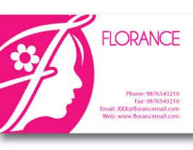 #80 untuk Design a Logo and Bc for Beauty salon Florance oleh subir1978