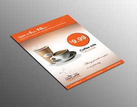 #27 para Design a Flyer for Cafe products por lardher