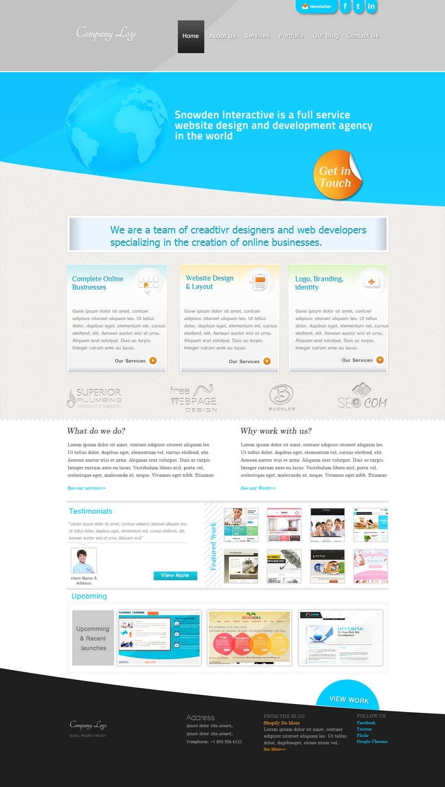 Kilpailutyö #11 kilpailussa Website Design for Simply Good Websites Ltd.