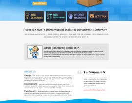 nº 58 pour Website Design for Simply Good Websites Ltd. par BizzCreator