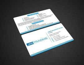 Nro 33 kilpailuun Double Sided Business Card käyttäjältä kushum7070