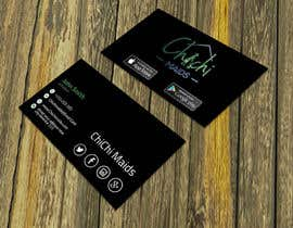bakhtear05 tarafından Design modern business card with social media icons and available to download on IOS and Android için no 17
