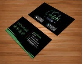 bakhtear05 tarafından Design modern business card with social media icons and available to download on IOS and Android için no 18