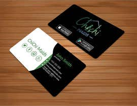 bakhtear05 tarafından Design modern business card with social media icons and available to download on IOS and Android için no 21
