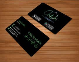 bakhtear05 tarafından Design modern business card with social media icons and available to download on IOS and Android için no 22