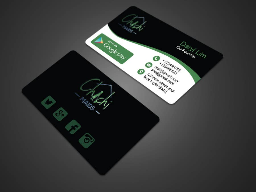 Entry #11 by rajibsarker5864 for Design modern business card with ...