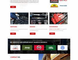Nro 33 kilpailuun Home page and one sub page designed in PSD for Four Wheel Drive Mechanic Workshop käyttäjältä lee800154