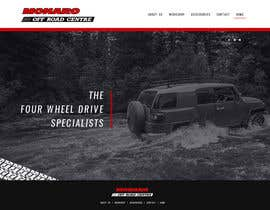 cristic827 tarafından Home page and one sub page designed in PSD for Four Wheel Drive Mechanic Workshop için no 9