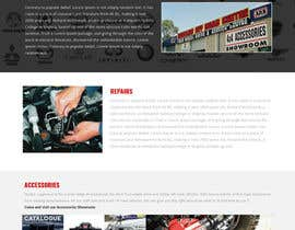 Nro 23 kilpailuun Home page and one sub page designed in PSD for Four Wheel Drive Mechanic Workshop käyttäjältä jituchoudhary