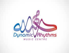 #205 untuk Logo Design for Dynamic Rhythms Music Centre oleh Mackenshin