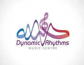#258 untuk Logo Design for Dynamic Rhythms Music Centre oleh Mackenshin