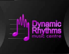 #93 for Logo Design for Dynamic Rhythms Music Centre by yreenhiba